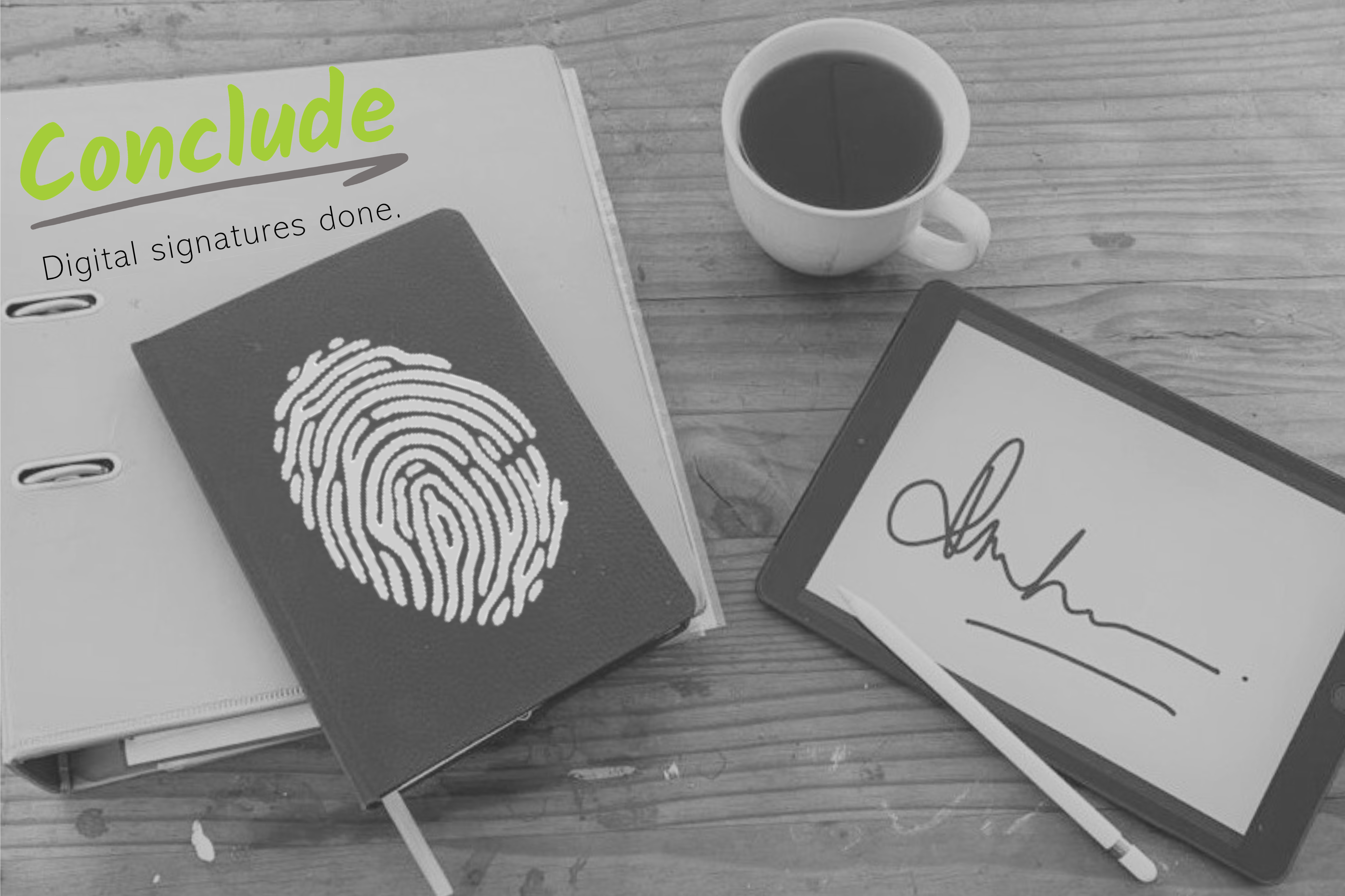 Blog Post image Digital and electronic signatures